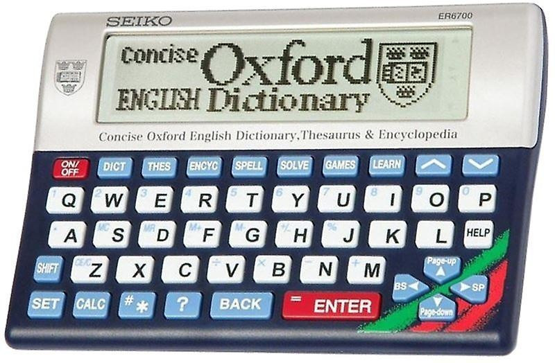 Seiko Instruments ER6700 Concise Oxford Dictionary