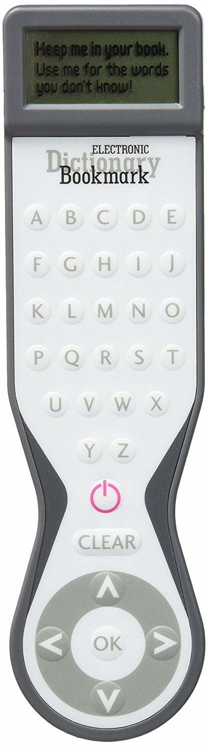 Image of IF Electronic Dictionary Bookmark Grey