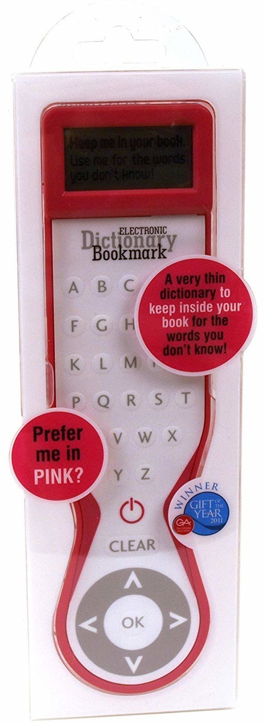 IF Electronic Dictionary Bookmark Pink