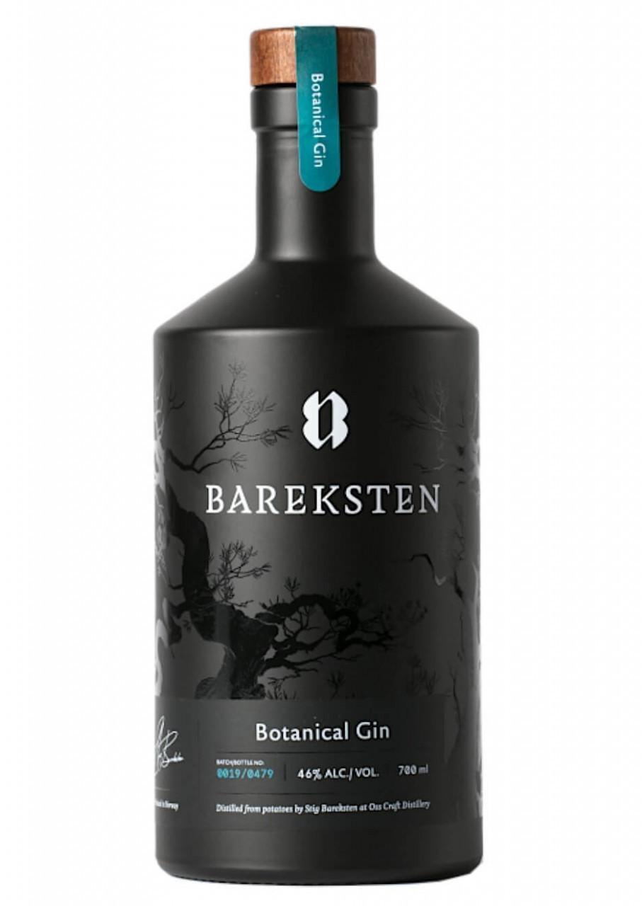 Bareksten Botanical Gin 46% 1l