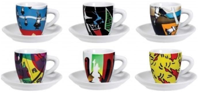 Bialetti Espressotassen-Set 6 Stück( Y0TZ013)