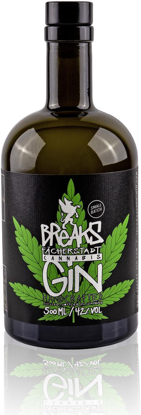 Breaks Cannabis Gin 0,5l 42%