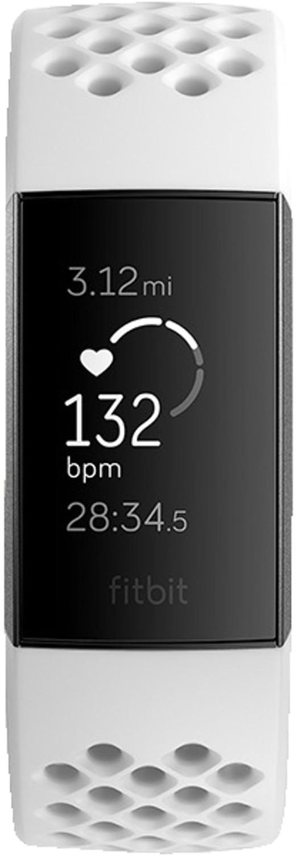 Fitbit Charge 3 frost white sport/graphite aluminium
