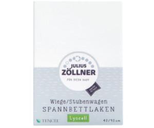 Julius zöllner wiege stubenwagen spannbettlaken tencel cm er