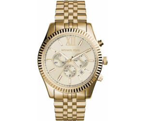 982f785021dc Buy Michael Kors Lexington Chrono 45 mm from £74.95 – Best Deals on ...