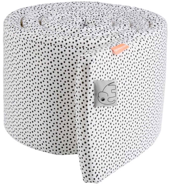Done by Deer Kinderbettumrandung 350cm - Happy Dots weiß
