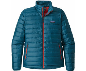 Patagonia Men's Down Sweater Jacket big sur bluef.red