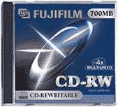 Fuji Magnetics CD-RW 700MB 80min 4x 10er Jewelcase