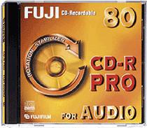 Fuji Magnetics CD-R Audio 700MB 80min 1x 10er J...