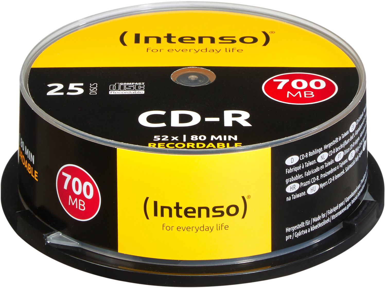 Intenso CD-R 700MB 80min 52x 25er Spindel