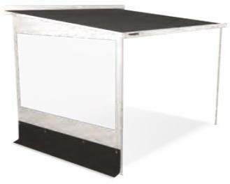 Dometic Rainprotect de Luxe (L, 250, white/black)