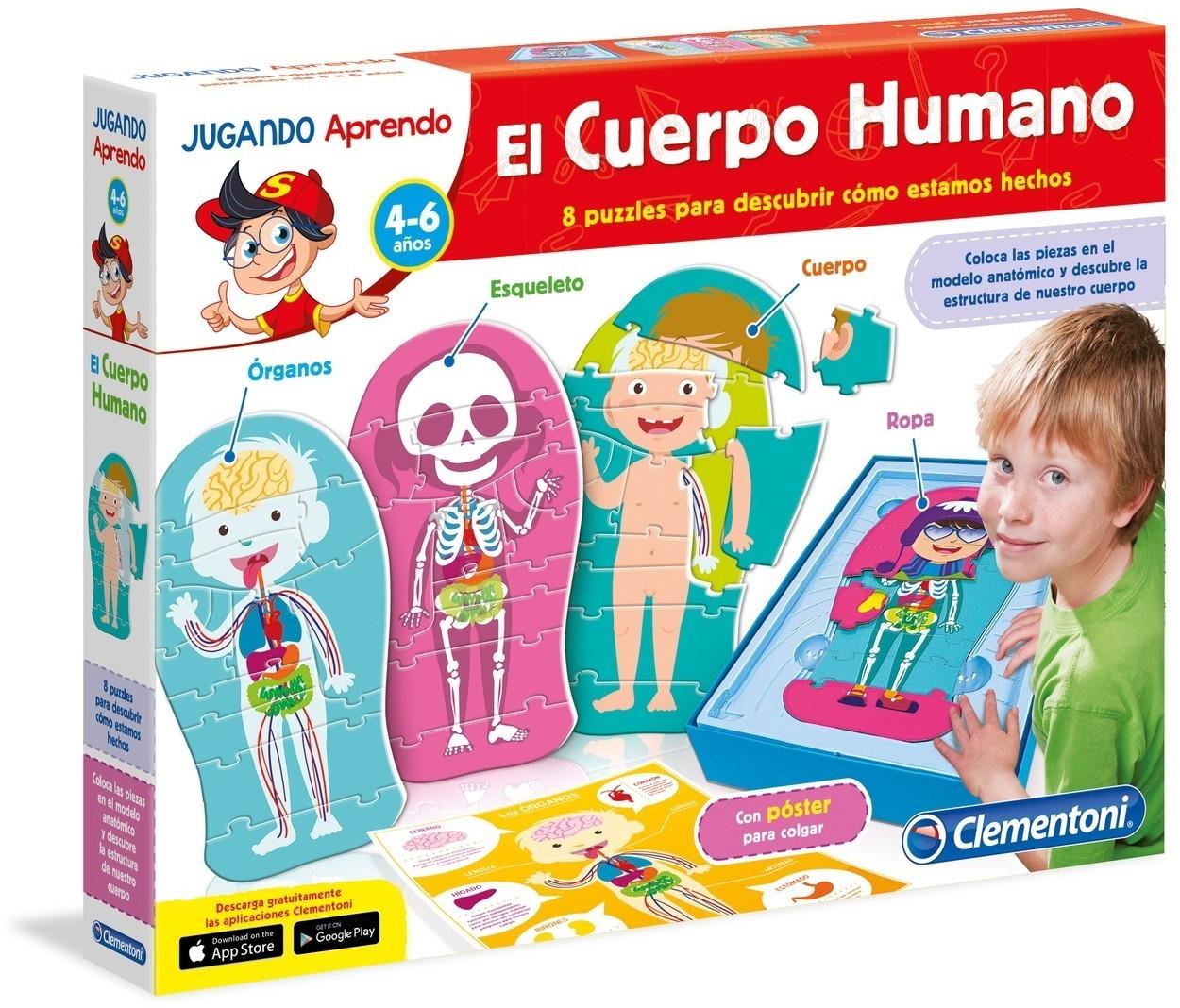 Clementoni Jugando Aprendo El cuerpo humano
