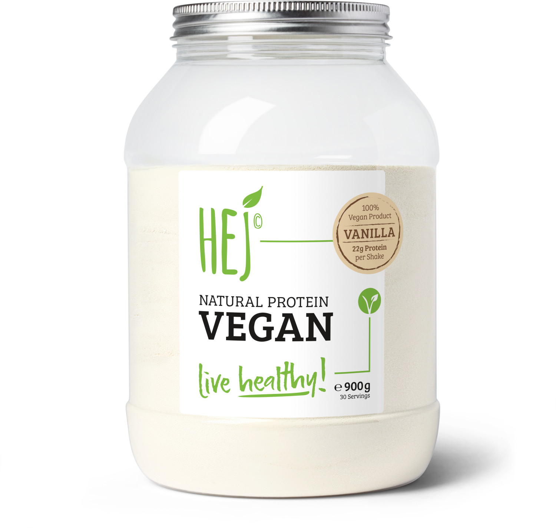 Hej Natural Protein Vegan Vanilla 900g