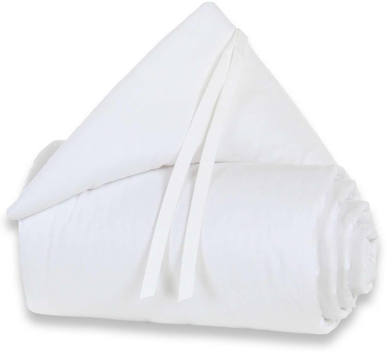 Babybay Cot Bumper Maxi/Boxspring Organic Cotton - White