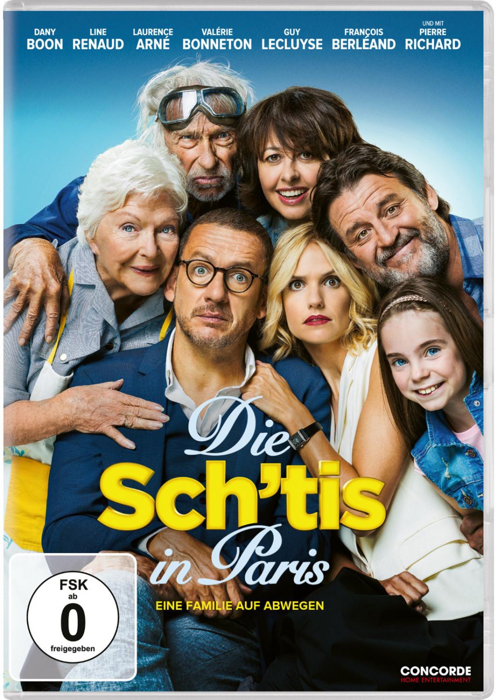 Die Sch´tis in Paris - Eine Familie auf Abwegen [DVD]