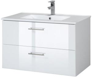 held m bel trento waschplatz set 80 cm 2 tlg ab 161 99 preisvergleich bei. Black Bedroom Furniture Sets. Home Design Ideas