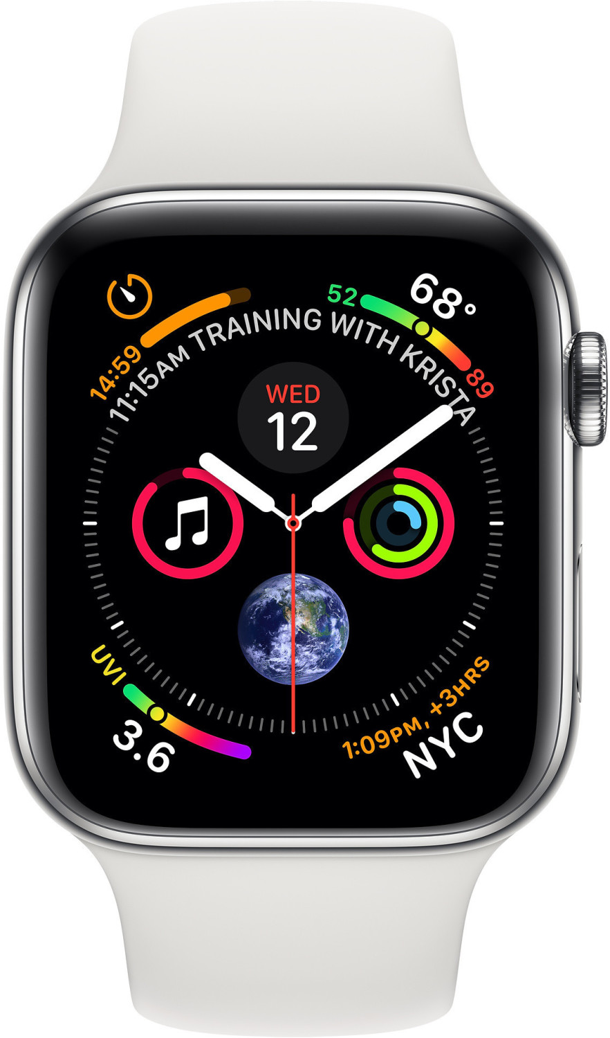Apple Watch Series 4 GPS + Cellular 44mm White