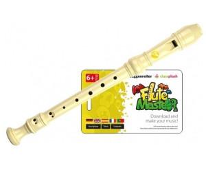 Flute Master App dt. G mit Blockflöte