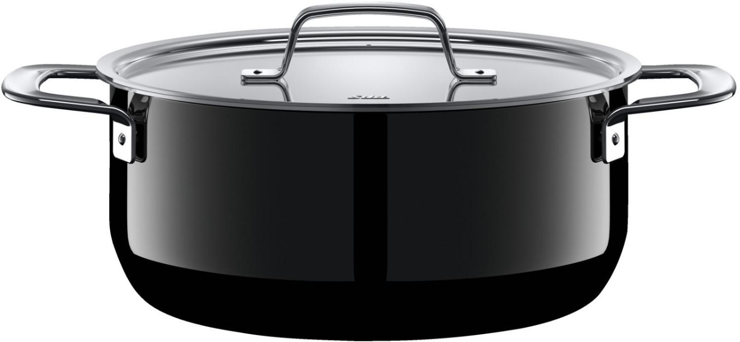 Silit Zeno Bratentopf 24 cm schwarz | Küche und Esszimmer > Kochen und Backen > Töpfe | Edelstahl