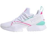 Puma Evolution Muse Maia Street 1 W white knockout pink 430c85042