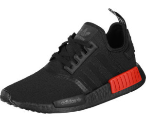 8e7a91825 Buy Adidas NMD R1 core Black core black lush red from £130.00 – Best ...