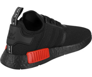 b08ea3d584af42 Buy Adidas NMD R1 core Black core black lush red from £95.99 – Best ...