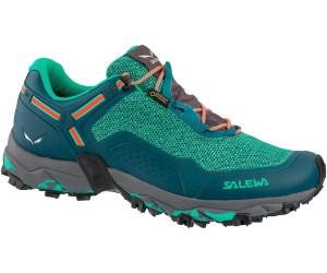 Salewa Women's Speed Beat GTX Trailrunningschuhe Patriot Blue Fluo Coral | 4 (UK)