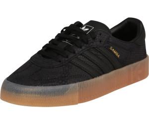 dcce7c95af41b Buy Adidas Sambarose Women core black/core black/gum 3 from £77.88 ...