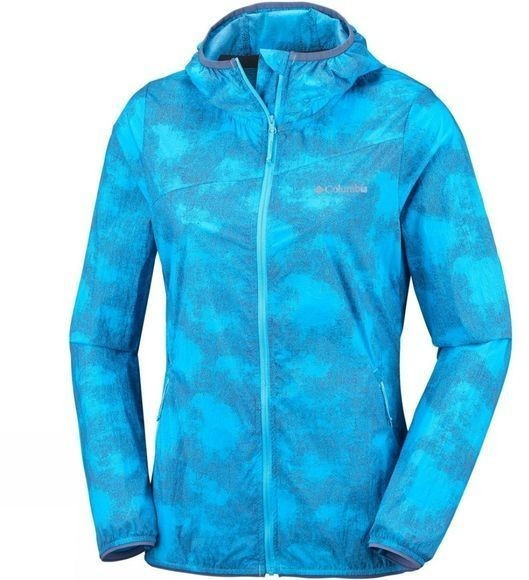 Columbia Addison Park Windbreaker W atoll gradient print