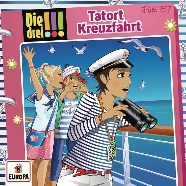 Die drei !!! 57: Tatort Kreuzfahrt [Hörbuch-CD]