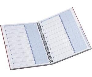 A5 Oxford Office Addressbuch mit Visitenkartenhüllen