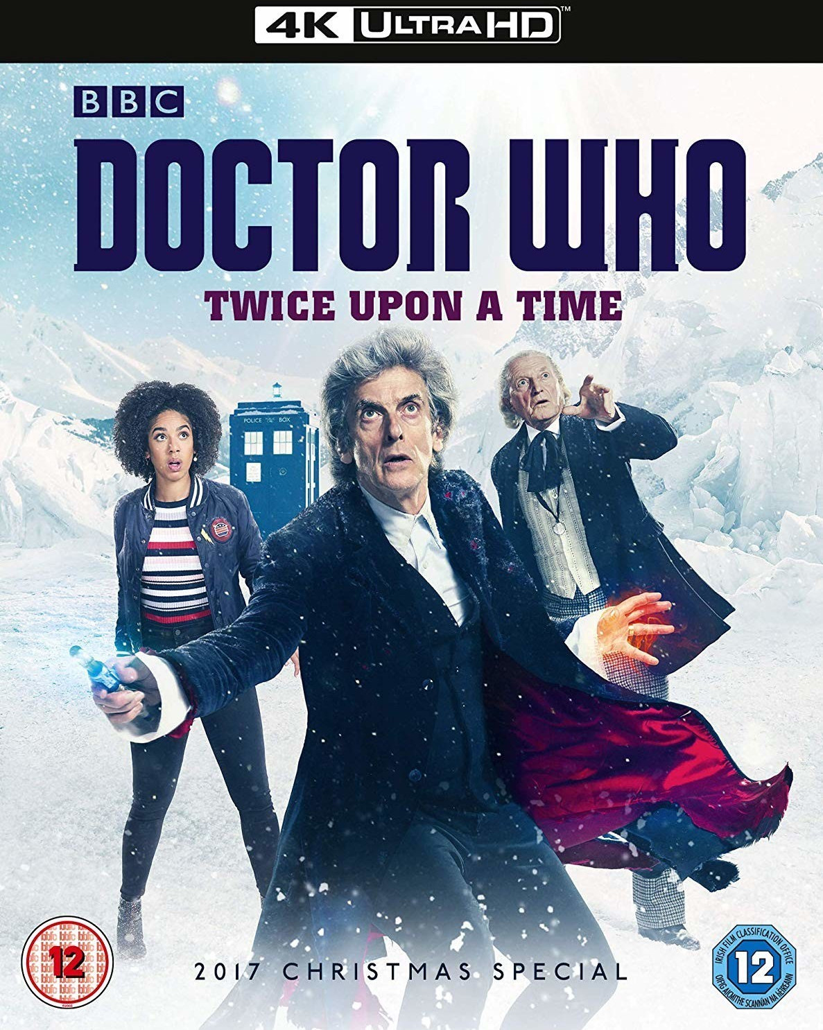 Image of Doctor Who - Twice Upon A Time (2017 Christmas Special) (4K UHD) [Blu-ray]