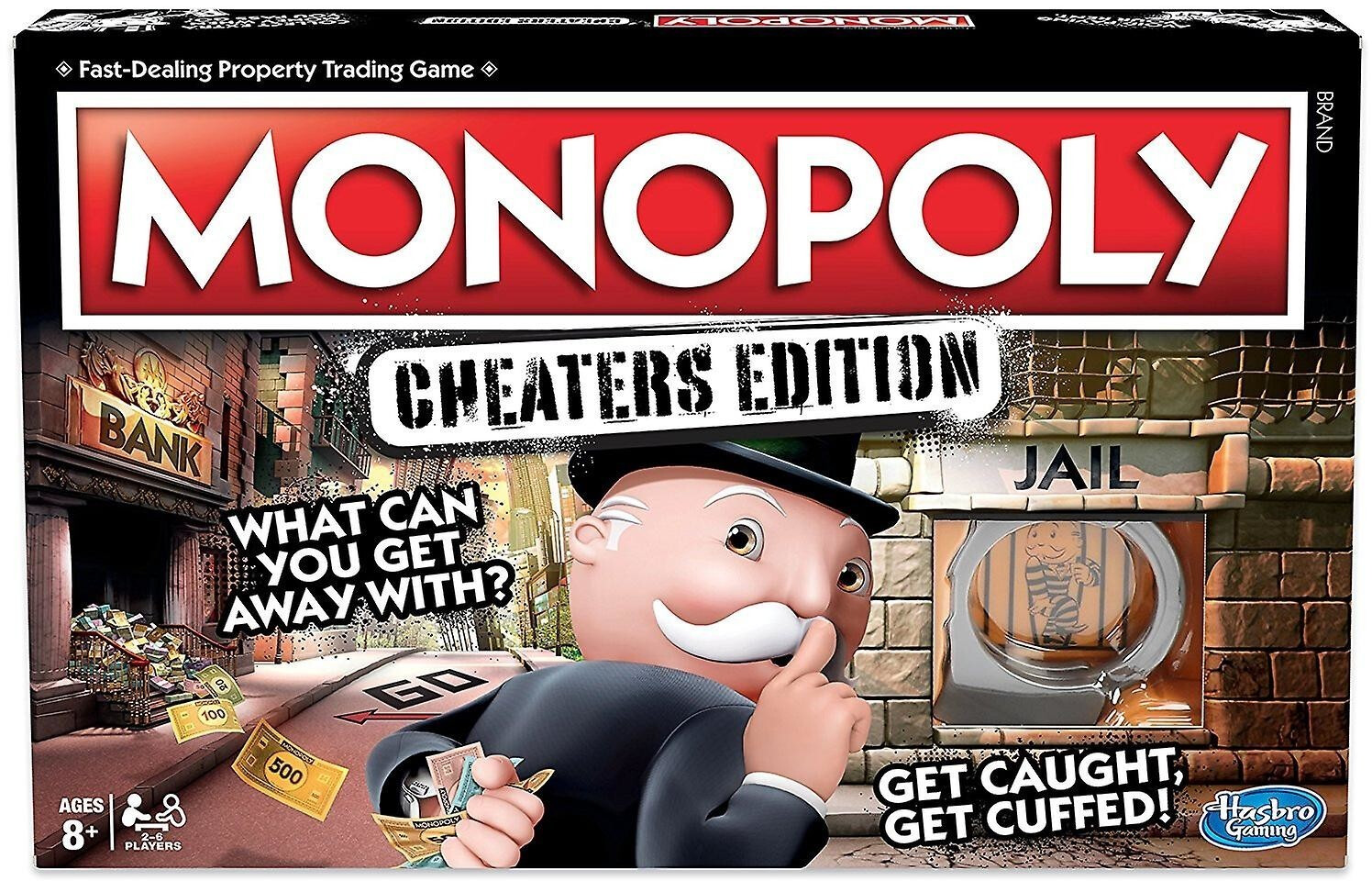 Hasbro Monopoly - Cheaters Edition