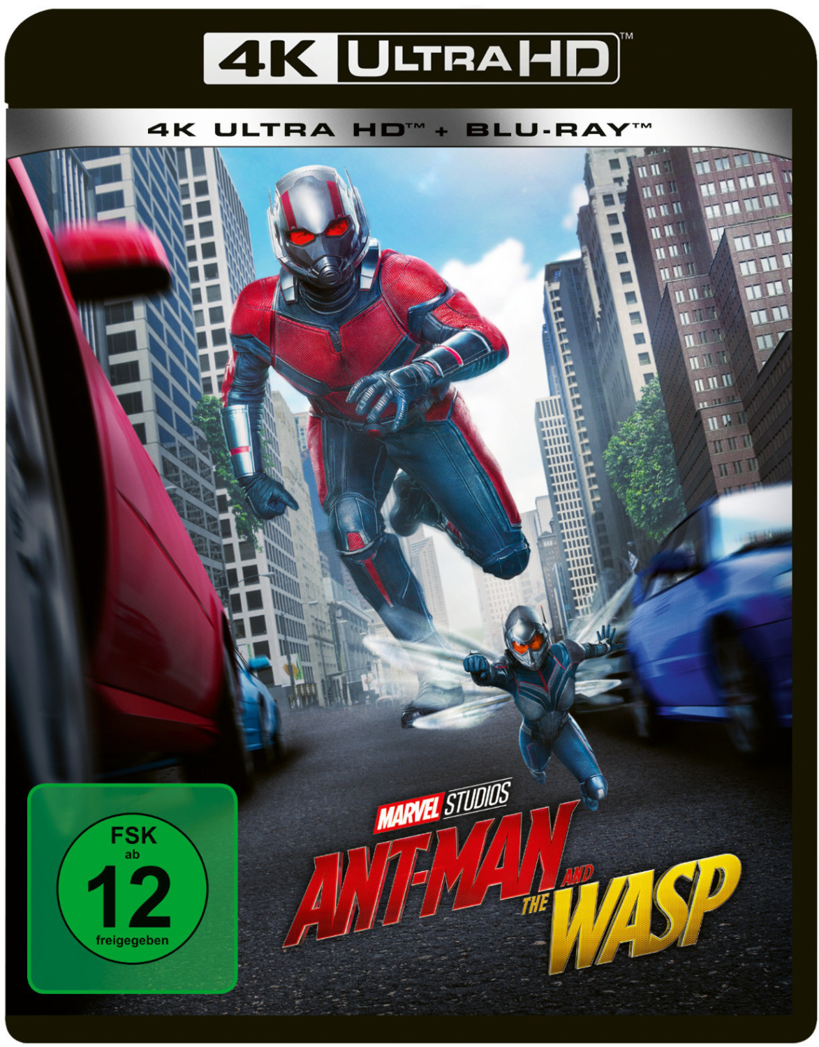 Ant-Man and the Wasp (4K Ultra HD) [Blu-ray]