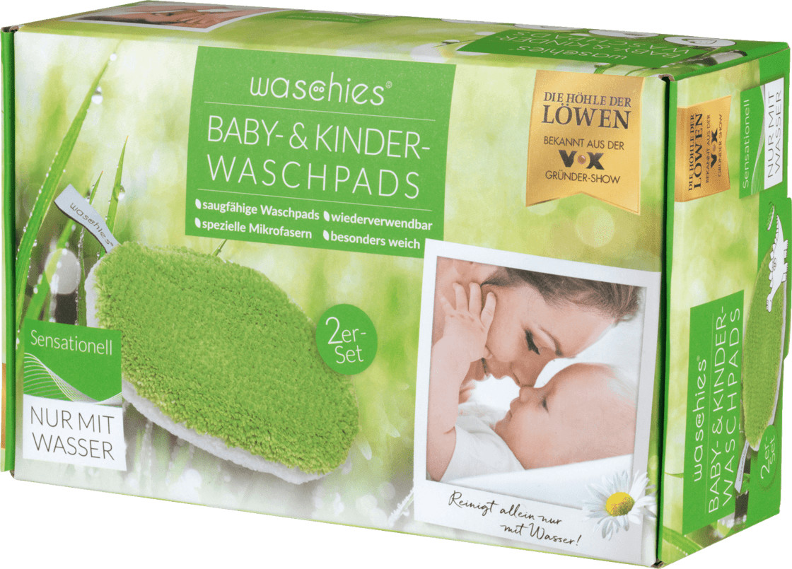 Waschies Baby-Pads 2er-Set