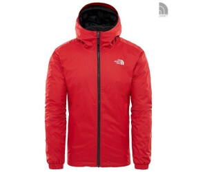 Buy The North Face Men s Quest Insulated Jacket rage red black ... dfcfb6082b64