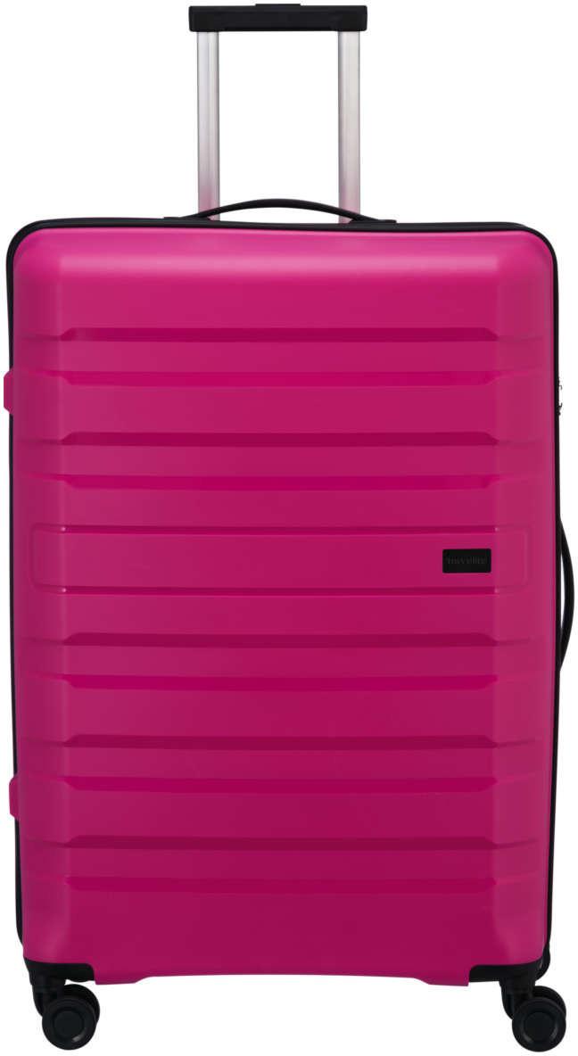 Travelite Kosmos 4-Rollen-Trolley 77 cm pink