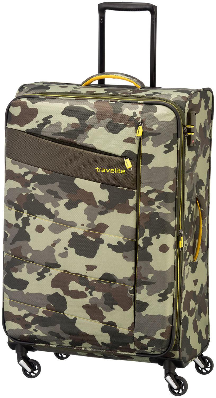 Travelite Kite 4-Rollen-Trolley 75 cm camouflage