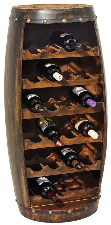 miaVILLA Weinfass 23 Flaschen
