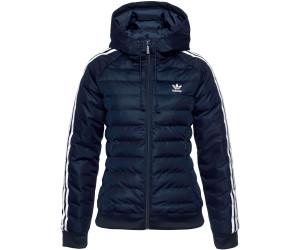 adidas Originals Damen Slim Jacke Daunenjacke blau Mode