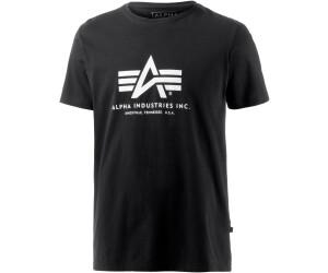 Alpha Industries Basic t 100501-412 t-shirt camisa greyblack//Black