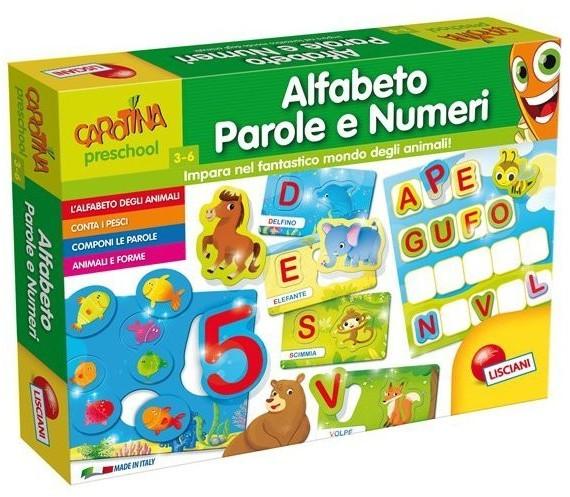Lisciani Alfabeto Parole e Numeri