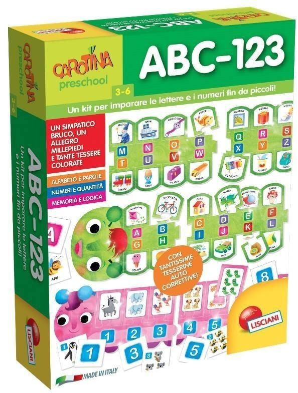 Lisciani ABC-123