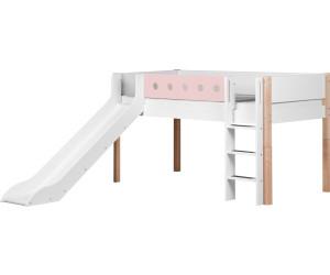 Flexa Etagenbett In L Form : Flexa halbhohes bett white cm mit rutsche ab