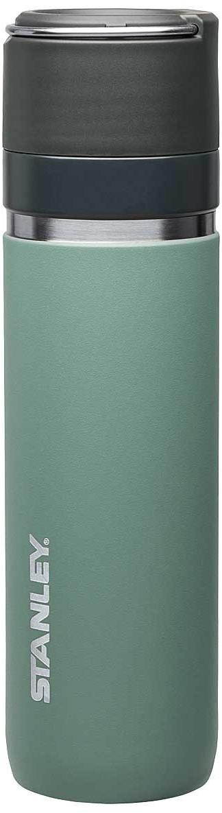 Stanley GO Ceramivac Thermokanne 709 ml grau-grün
