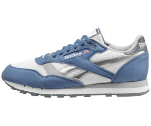 50387d3e0c33dd Reebok Classic Leather bunker blue white cool shadow graphite silver ...