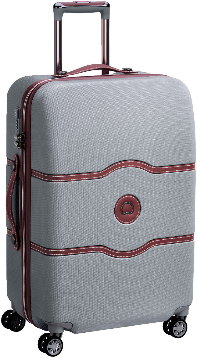 Delsey Chatelet Air 4 Wheel Trolley 67 cm silver