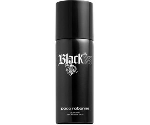 paco rabanne black xs pour homme deodorant spray 150 ml au meilleur prix sur. Black Bedroom Furniture Sets. Home Design Ideas
