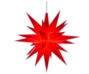 Herrnhuter Stern A1e (13cm) rot inkl. LED