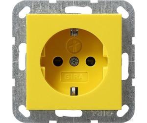 Gira Schuko-Prise de courant Protection des enfants Système 55 Anthracite 045328 Gris Foncé Gris